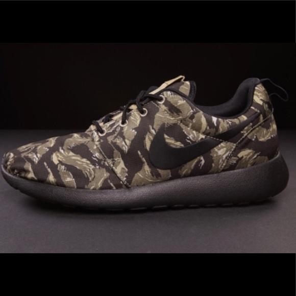 Nike Shoes | Tiger Camo Roshe Run